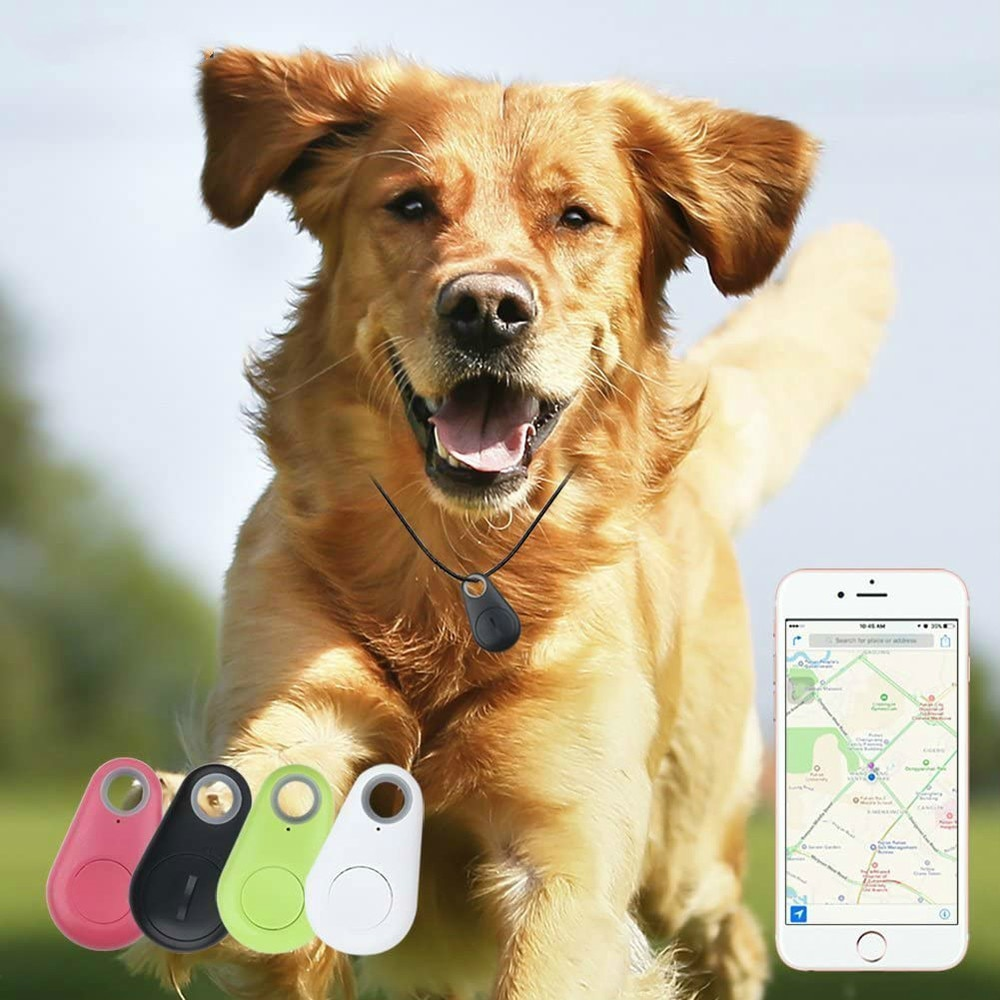 GPS Tracker Anti-Lost Waterproof with Bluetooth