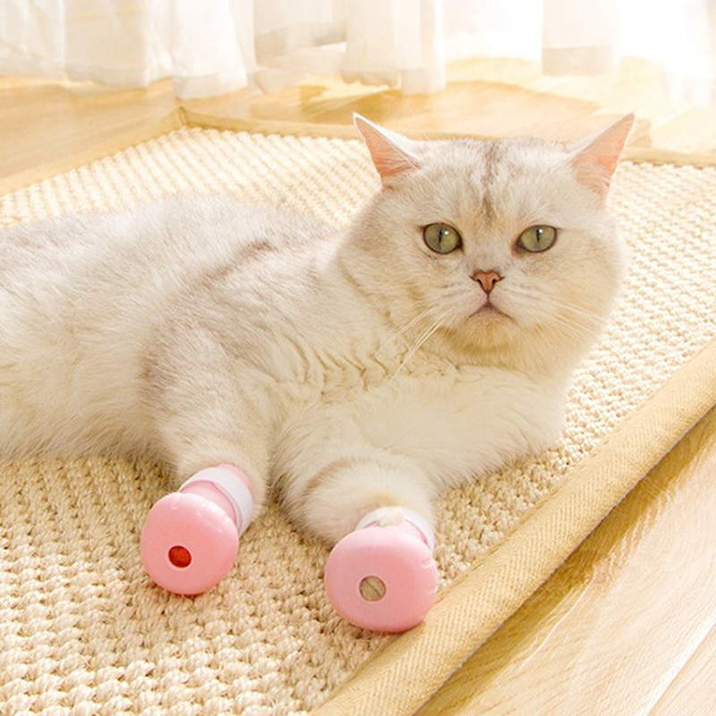 Silicone Anti-Scratch Shoes For Cats